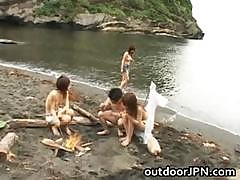 Arisa Kanno Asian Babe And Friends Part1