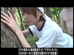 Japanese girl cute baby Hand Job fucking Blowjobs Outdoor Fingering