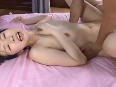 Hitomi Oki Gets Some Threesome Action For Her Pussy