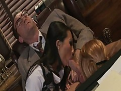 Unfinished Business - Asa Akira and Kirsten Price