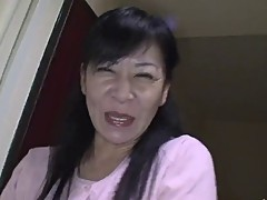 49yr old Granny Maki Shikano gets Creamed (Uncensored)
